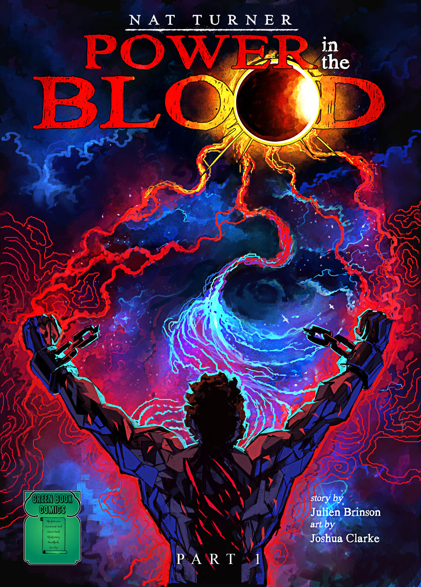 Cover of Nat Turner: Power in the Blood